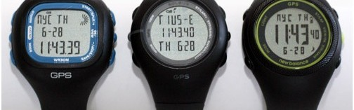 3 montres cardio gps pas cher