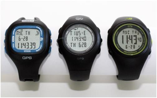 3 montres gps pas cher