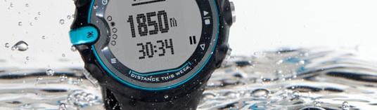 Etanchéité d'une montre cardio GPS : que veulent dire les normes IPX6, IPX7 et IPX8