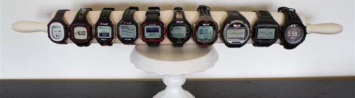 Tableau comparer montre cardio gps