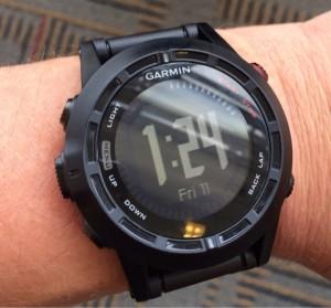 Test de la montre cardio GPS Garmin Fenix 2