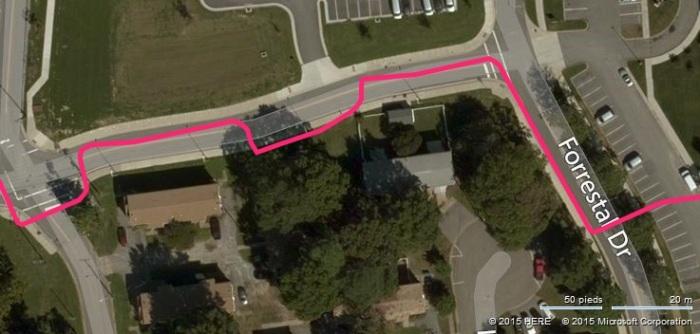 Map précision GPS