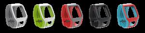 Bracelet couleurs TomTom Runner Cardio