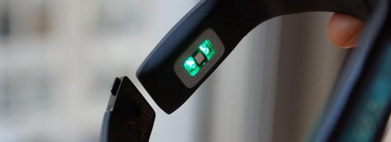 Bracelet connecté capteur cardio