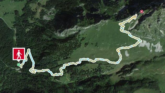 Trace GPS M400 montagne