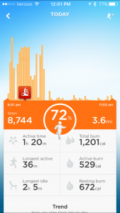 Appli jawbone UP