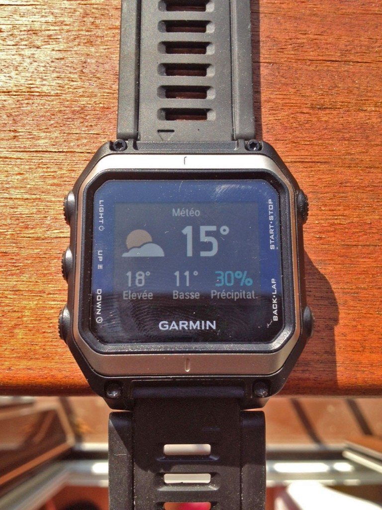 test de la garmin epix la navigation gps au poignet. Black Bedroom Furniture Sets. Home Design Ideas