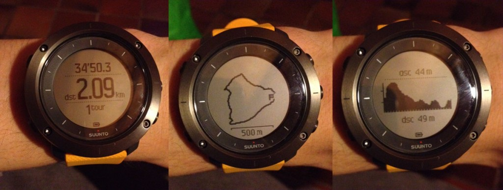 Enregistrement Suunto Traverse