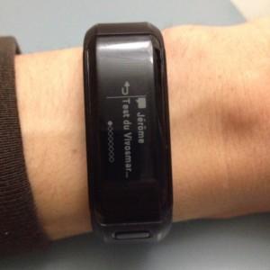 Bracelet connecté Vivosmart HR