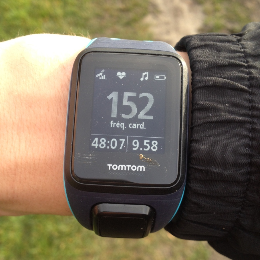 montre tomtom runner gps watch