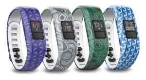 Vivofit 3 bracelets design