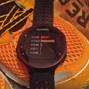 Forerunner 235 zones fréquence cardiaque