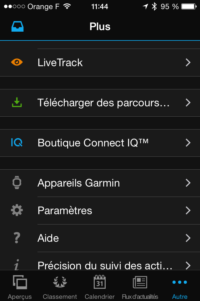 Garmin Connect IQ mobile 1