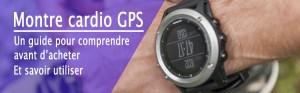 Guide montre cardio GPS