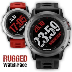 Watchface rugged