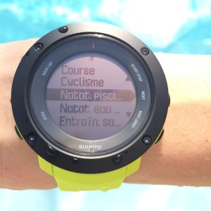 Ambit3 Vertical natation