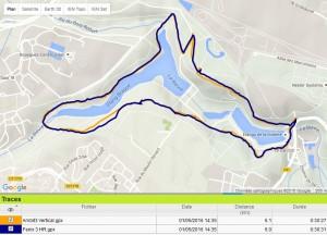 Précision GPS Ambit3 Vertical Fenix 3
