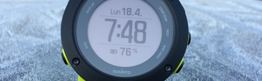 Test Suunto Ambit3 Vertical