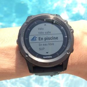 Fenix 3 HR natation