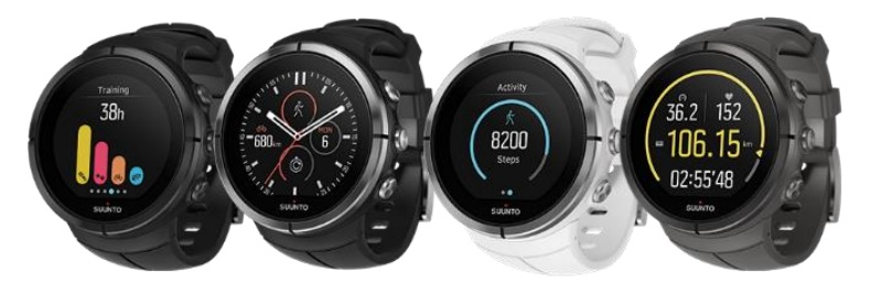 Versions Suunto Spartan Ultra
