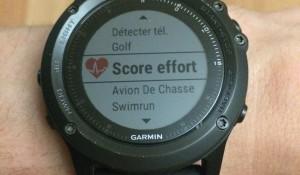 Test effort Fenix 3