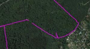 Trace GPS décrochage