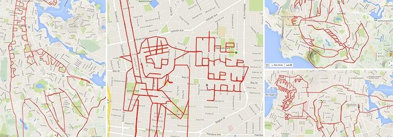 Dessin GPS Stephen Lund