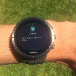 Smart notifications Spartan Ultra
