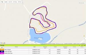 Trace GPS Spartan Ultra étang