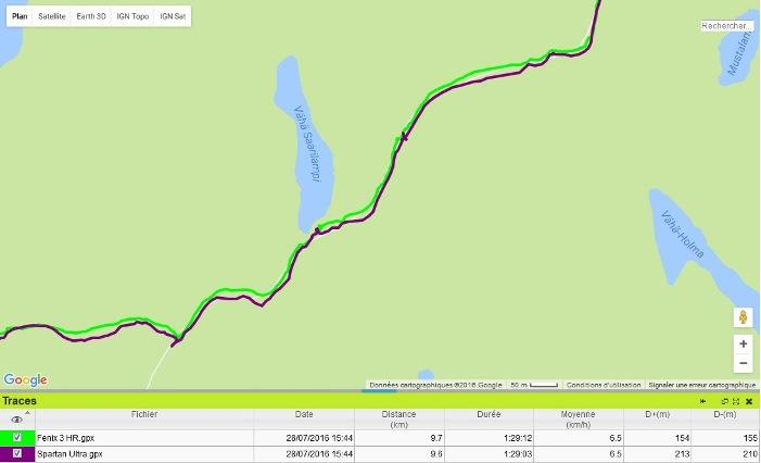 Trace GPS Spartan Ultra Finlande 1