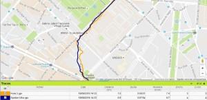 Trace GPS Spartan Ultra Paris