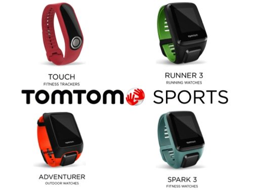 TomTom Runner 3 Spark 3 Touch Adventurer