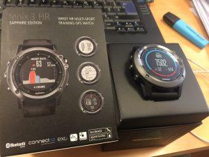 Test montre GPS