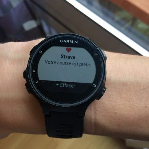 Forerunner 735XT smart notifications