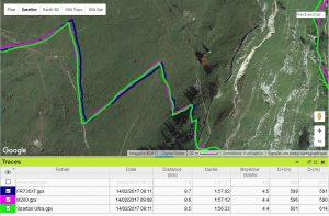 M200 FR735 précision GPS