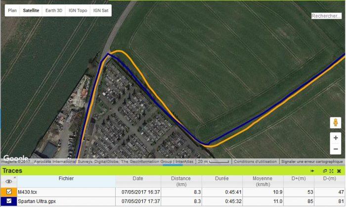 M430 GPS sousvire