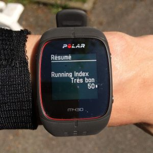 M430 Running index