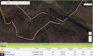 M430 précision GPS forêt