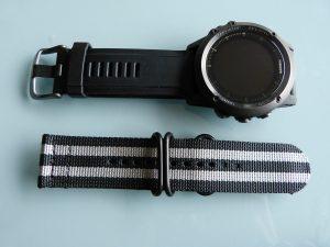 Tuto Fenix 3 bracelet NATO 1