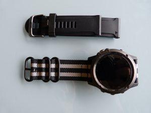 Tuto Fenix 3 bracelet NATO 3