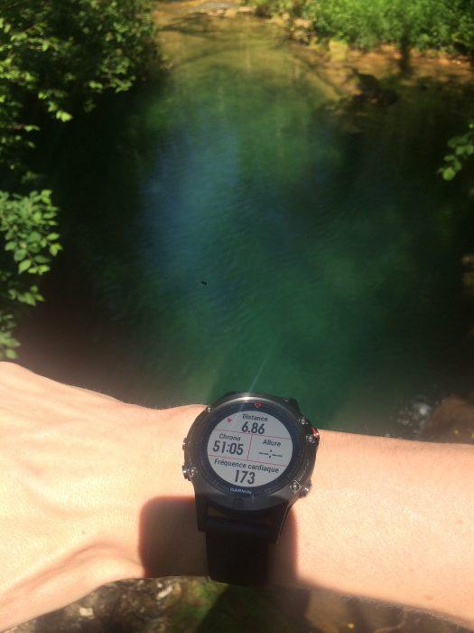 Fenix 5 natation