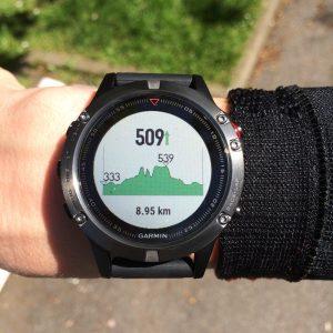 Fenix 5 running