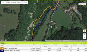 Fenix 5 trace GLONASS GPS