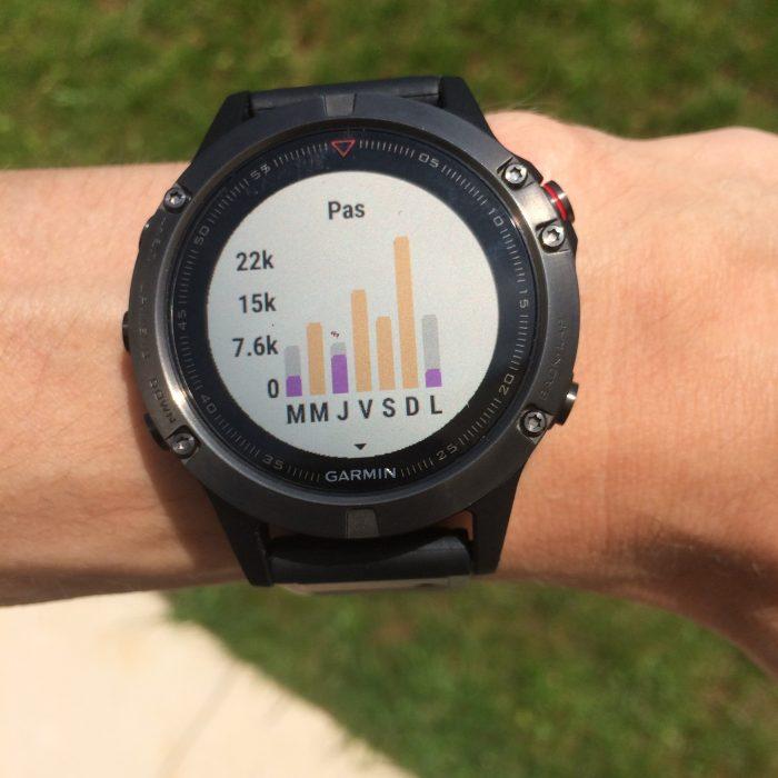 Fenix 5 tracker d'activité