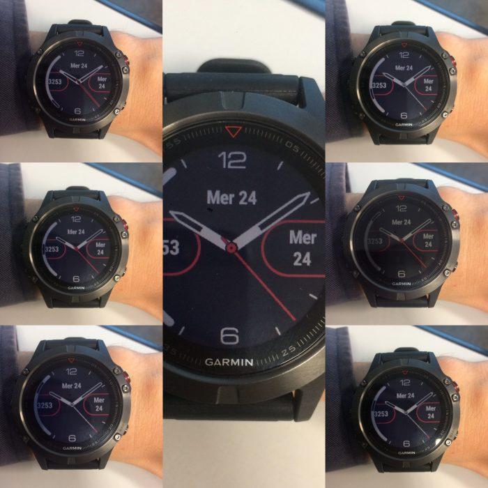 Fenix 5 watchface