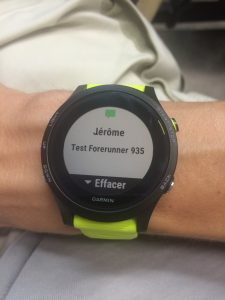 Forerunner 935 smart notifications