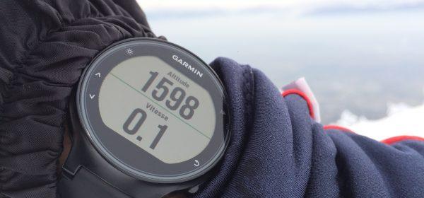 Montre GPS altimètre baro