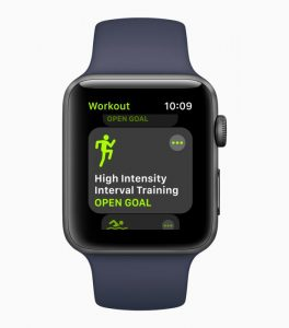 Apple watch 3 HIIT