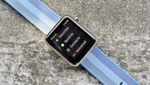 Apple watch 3 menu