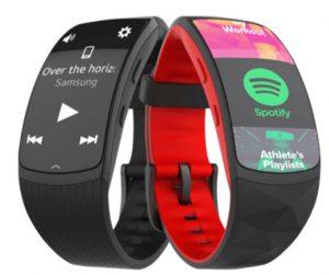 Samsung Gear Fit 2 Pro Spotify
